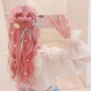 Tadamimi hair style
