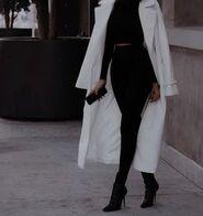 White-coat-black-outfit-chic-sleek