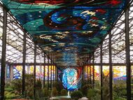 Stained Glass Greenhouse