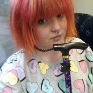 Cripplepunk selfie
