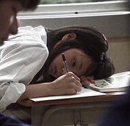 Schoolgirl-writing