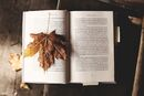 Book and Maple Leaf