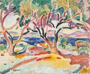Braque-olive-trees