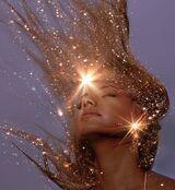 Glitter-light-girl