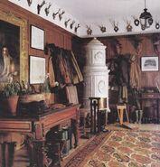 Vintage mystery room