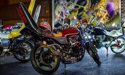 Bosozoku motorcycle
