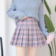 Itgirl-shop-gray-pink-school-style-grand-plaid-pleated-aesthetic-skirts-3691131732003 1200x1200