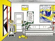 Roy Lichensteins The Artist's Studio No. 1 (Look Mickey)