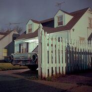 Suburban gothic house