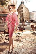 Pink suit barbie