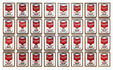 Andy Warhols 32 Campbell's Soup Cans