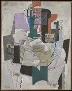 Picasso-fruit-violin-bottle