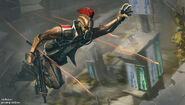 Cyborg gladiators