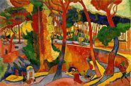 'The Turning Road at L'Estaque