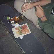 Skate-sushi