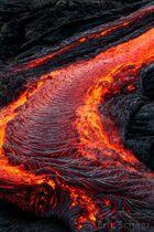 Lava-river