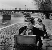 Seine, paris, 1949