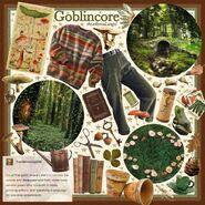 Goblincore moodboard