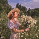 Lady in the fields