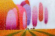 The Houses on Flower Field 2 - Vu QDung