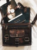 Jane austen and satchel