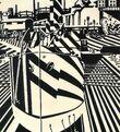 Edward Wadsworth, Liverpool Shipping, 1918