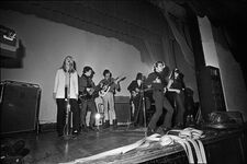 The Velvet Underground on stage