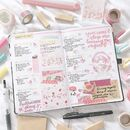 70+ Pink bullet journal layout ideas My Inner Creative