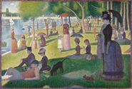 Canvas-oil-La-Grande-Jatte-Georges-Seurat-1884