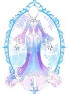 Pastel Celestial Fantasy Dress