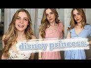 How to dress like a disney princess