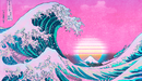 Vaporwave-aesthetic-great-wave