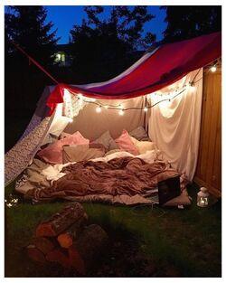 Outdoor blanket fort.jpg