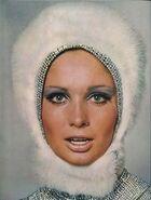 Snow bunny makeup 1