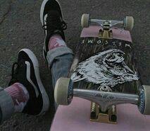 Skate-deck
