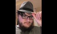 Neckbeard with fedora hat (Nice Guy)