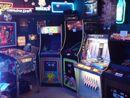 Neon carnival arcade