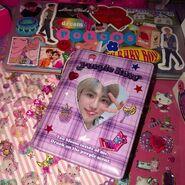 Purple jaemin collect book