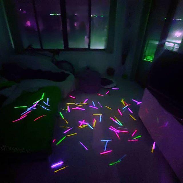 Neon Rave Aesthetic