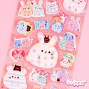 Love Rabbit & Friends Puffy Stickers