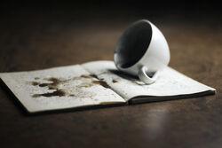 Horror academia spilled coffee.jpg