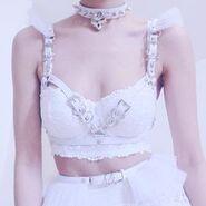 Bbybirl-white-harness
