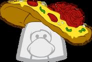 Sombrero de Pizza icono