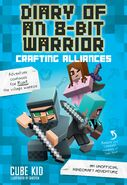 Diary of an 8-bit Warrior- Crafting Alliances Cover