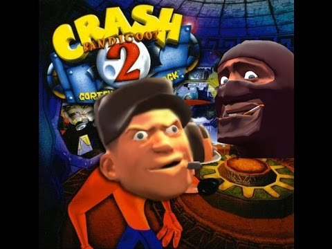 Scout plays Crash Bandicoot 2
