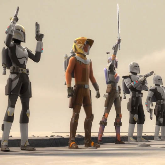 5 Things You Missed in 'Star Wars Rebels: Heroes of Mandalore'