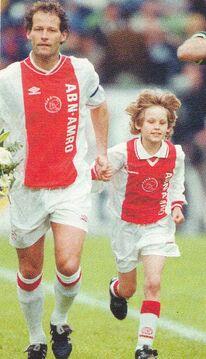 Vader en zoon in 1999