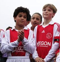 Justin Kluivert 2009-10.