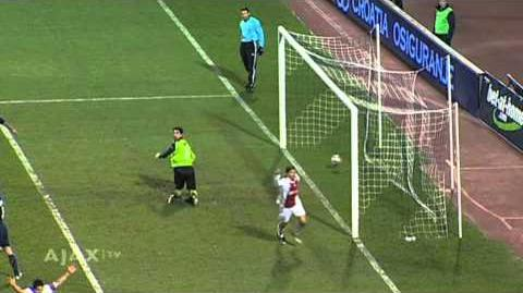 Ajax tegen Dinamo Zagreb