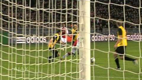 Ajax in de KNVB Beker 2010 11